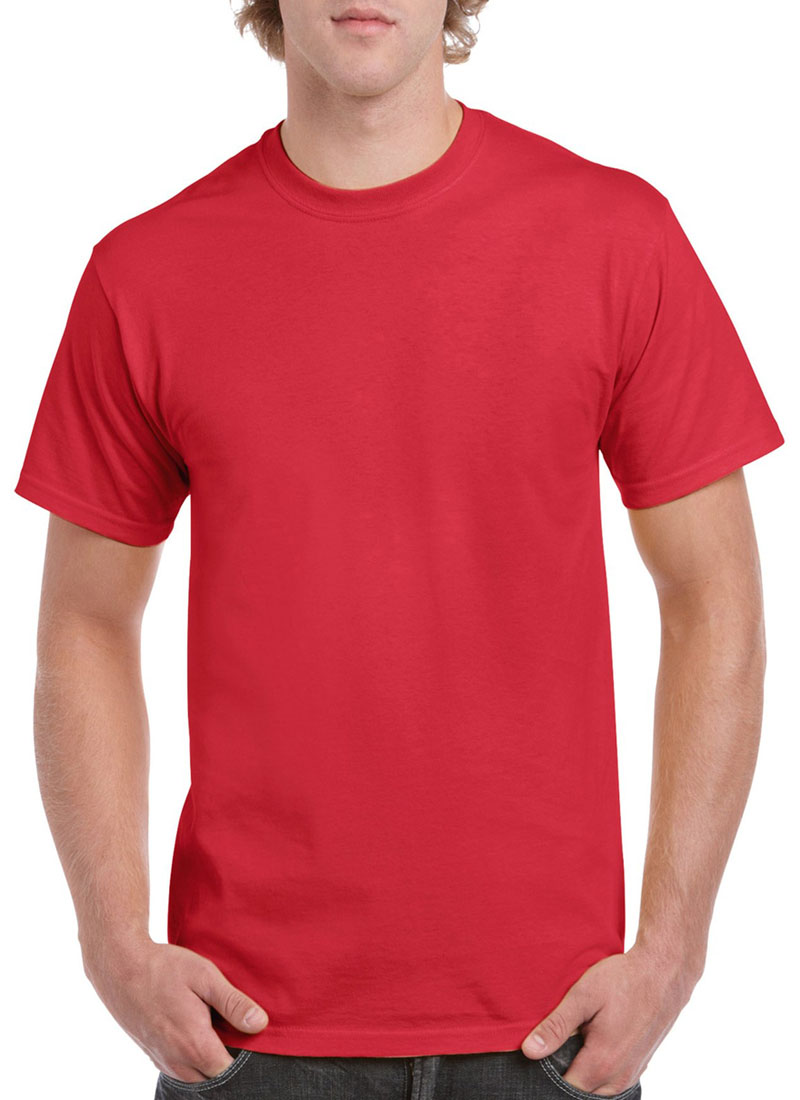 Adult T Shirt Printing Red